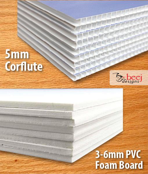Corflute & PVC Signage