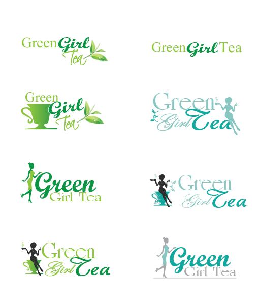 Green Girl Tea - concepts