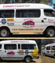 Royal Hotel Bus Vehicle Signage