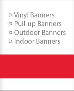 Banners & Pull-ups
