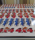 Pig hunting stock decals